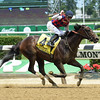 Carina Mia with Julien Leparoux wins the 2016 Acorn Stakes (gr. I).<br /> Coglianese Photos
