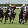Heart to Heart wins the 2016 El Prado Stakes.<br /> Coglianese Photos/Andie Biancone