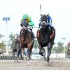 Eskenformoney wins the 2016 Rampart Stakes<br /> Coglianese Photos/Leslie Martin