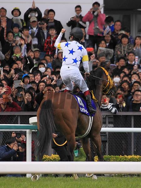 Big Arthur wins the 2016 Takamatsunomiya Kinen.<br /> Naoji Inada Photo
