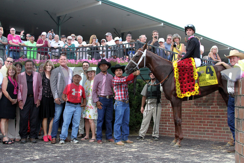 Delaware Handicap Winners Circle Chad B. Harmon