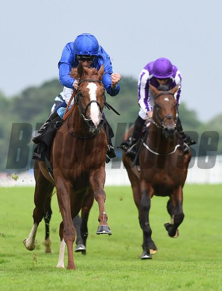 Hawkbill wins the Tercentary Stakes at Royal Ascot June 16, 2016<br /> Mathea Kelley Photo