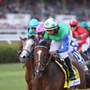 Lady Lara wins the Fasig-Tipton De La Rose Stakes at Saratoga.<br /> Coglianese Photos/Adam Mooshian