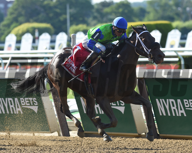 By the Moon wins the 2016 Bed o' Roses Handicap.<br /> Coglianese Photos/Chelsea Durand
