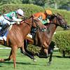 Guapaza wins the 2016 Fasig-Tipton Waya Stakes.<br /> Coglianese Photos