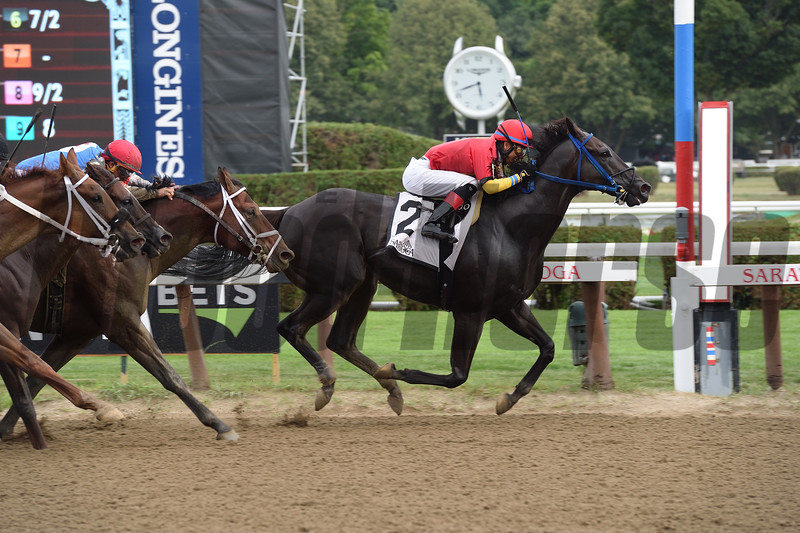 Moonlight Song wins the 2016 John Morrissey Stakes.<br /> Coglianese Photos