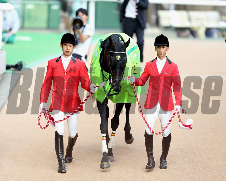 Logotype wins the Yasuda Kinen in Japan<br /> Maskazu Takahashi
