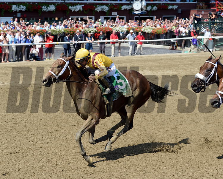 Cavorting wins the 2016 Personal Ensign.<br /> Coglianese Photos/Chelsea Durand