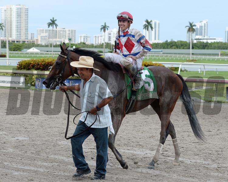 Dude Fantasy wins the Florida Sire My Dear Girl Stakes Division<br /> Coglianese Photos/Lauren King