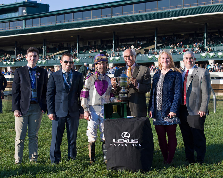 Lightstream with Julien Leparoux<br /> wins the Lexus Raven Run (gr. II) at Keeneland in Lexington, Ky., on Oct. 22, 2016.