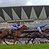 Across The Stars wins the 2016 King Edward VII at Royal Ascot on June 17, 2016.<br /> Mathea Kelley Photo