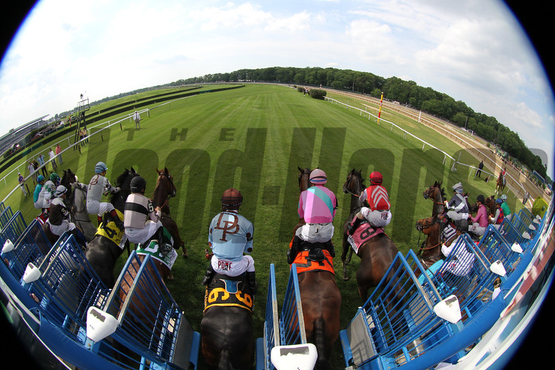 Just A Game Start Belmont Park Chad B. Harmon