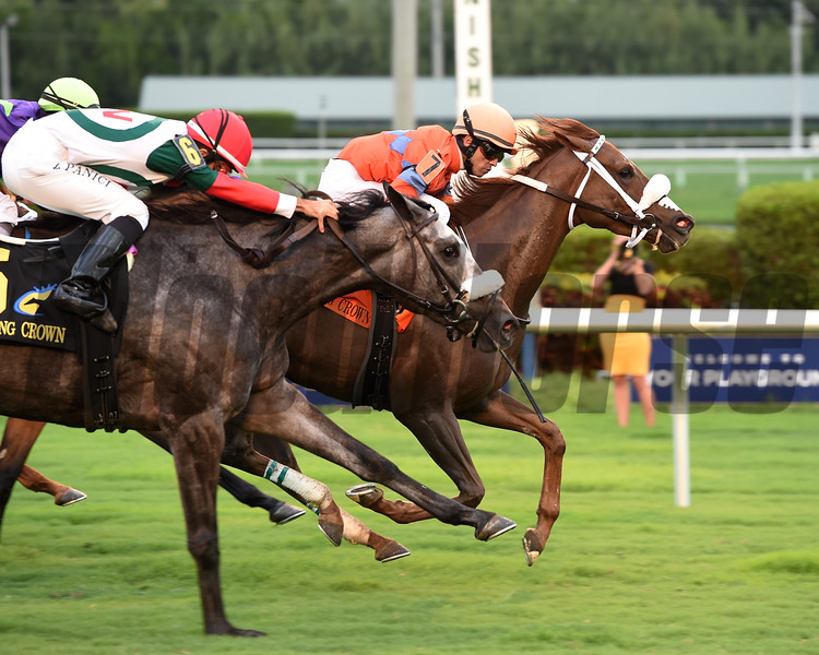 Marabea wins the 2016 Claiming Crown Tiara<br /> Coglianese Photos/Leslie Martin