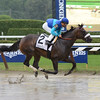 Miss Ella wins the Caress Stakes for fillies and mares at Sratoga Race Course on July 31, 2016.  Photo by Coglianese Photos