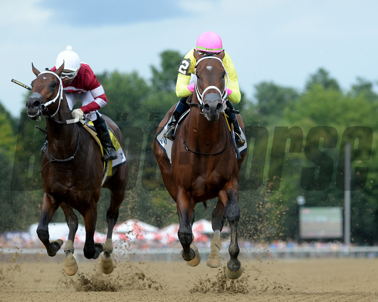 Call Paul wins the Saratoga Special Stakes Sunday, August 12, 2018. Photo: Coglianese Photos