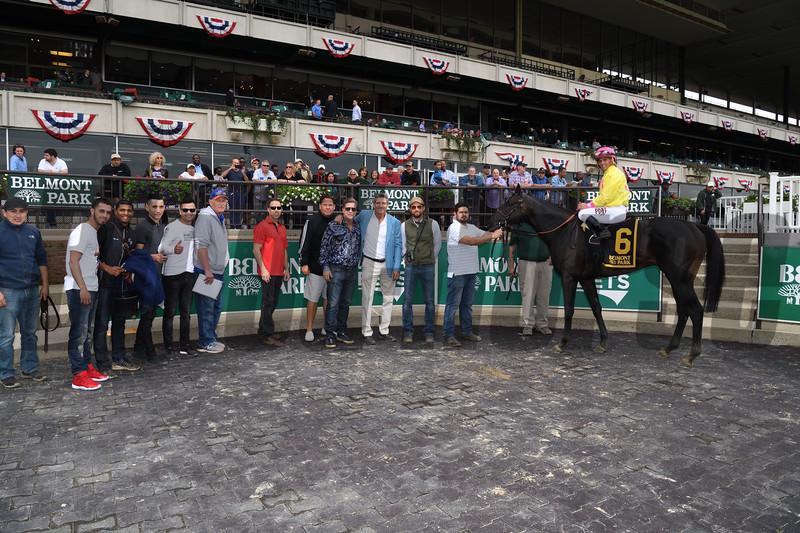 Offering Plan, Javier Castellano, Kingston Stakes, $125,000, Belmont ark, May 28, 2018