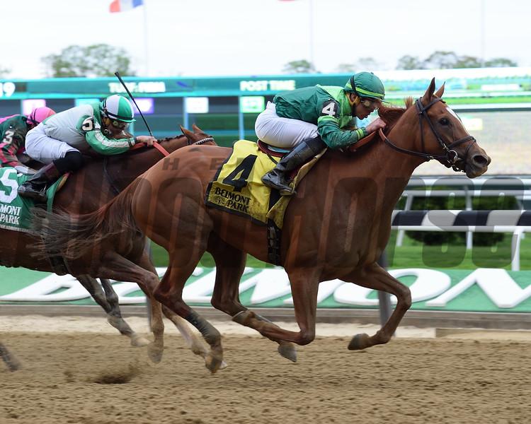 Pacific Wind, Irad Ortiz Jr., Ruffian Stakes, G2, Belmont Park, May 5, 2018