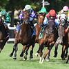 Sistercharlie wins the Diana Stakes at Saratoga Saturday, July 21, 2018. Photos: Coglianese Photos/Arianna Spadoni