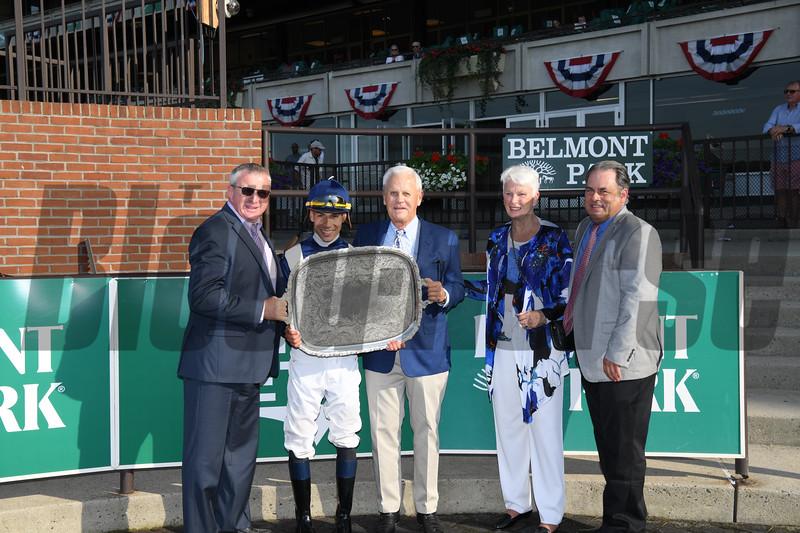 Oscar Performance wins the Poker Stakes at Belmont Park June 17, 2018. Photo: Coglianese Photos