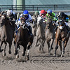 Coach Rocks wins the Gulfstream Park Oaks<br /> Coglianese Photos/Andie Biancone