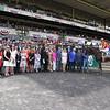 Hoppertunity wins 2018 Brooklyn Invitational Stakes at Belmont Park June 9, 2018. Photo: Coglianese Photo
