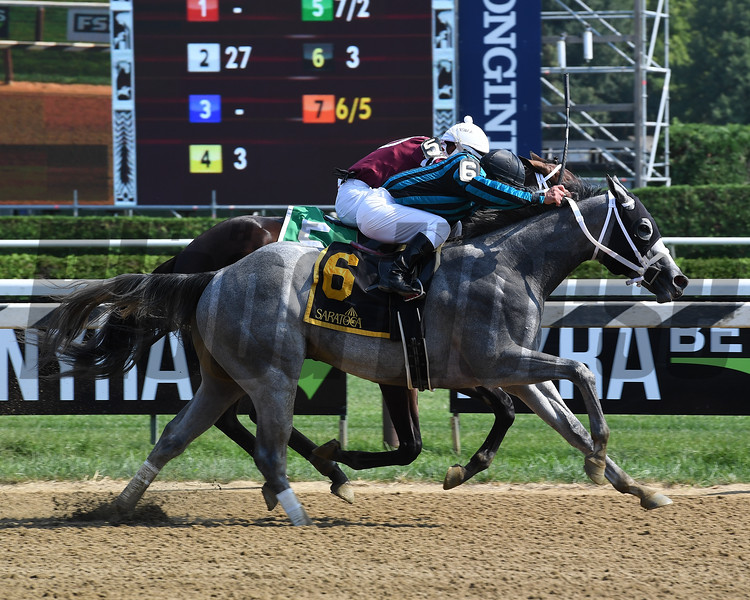 Dugout wins the 2018 Funny Cide Stakes<br /> Coglianese Photos/Susie Raisher