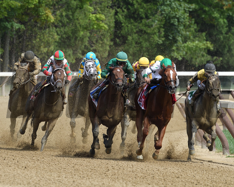 Promises Fulfilled wins the 2018 H. Allen Jerkens Stakes<br /> Coglianese Photos/Robert Mauhar