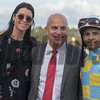 Flameaway with Jose Lezcano up wins Sam F Davis @ Tampa Bay Downs.   Mark & Wife <br /> © Joe DiOrio/Winningimages.biz