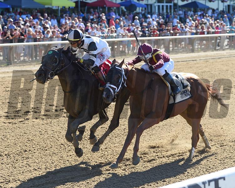 Limousine Liberal wins the 2018 Belmont Sprint Championship<br /> Coglianese Photos/Chelsea Durand