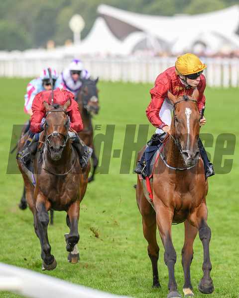 Pallasator; Jaime Spencer; win the Queen Alexandra Stakes; Royal Ascot; Ascot Race Course; Ascot; UK; 6-23-18; Photo by Mathea Kelley