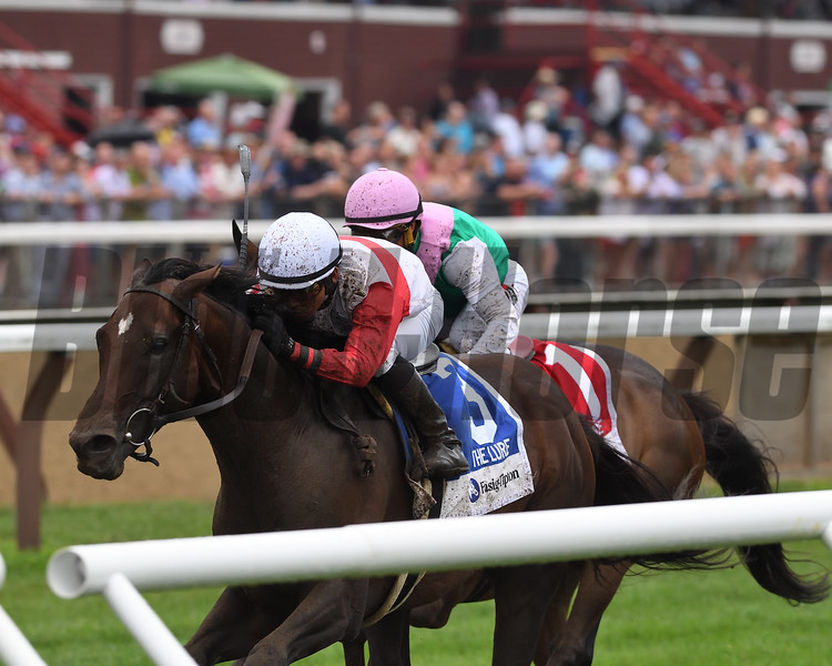 Inspector Lynley wins the 2018 Fasig-Tipton Lure Stakes<br /> Coglianese Photos/Chelsea Durand