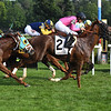Channel Maker and Glorious Empire deadheat in the 2018 Bowling Green Stakes<br /> Coglianese Photos