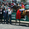 Abel Tasman with jockey Mike Smith wins the 88th running of The Grade 1 Ogden Phipps at Belmont Park Saturday June 9, 2018 <br /> Dave W. Harmon