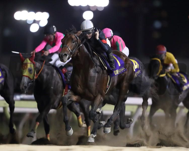 Le Vent Se Leve wins the 2018 Japan Dirt Derby