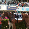 Promises Fulfilled wins the 2018 Fountain of Youth Stakes  <br /> Coglianese Photos/Leslie Martin