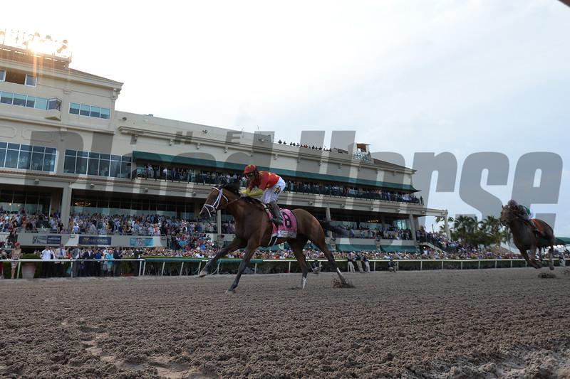 Audible wins the 2018 Florida Derby<br /> Coglianese Photos