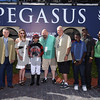 Girls Know Best wins the 2018 Ladies' Turf Sprint Stakes<br /> Coglianese Photos