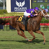 Rainbow Heir wins the 2018 Gulfstream Park Turf Sprint<br /> Coglianese Photos/Susie Raisher