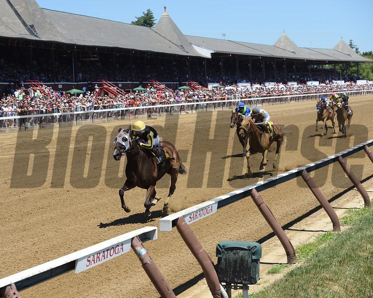 2018 Saratoga Meet First Race - Bad Student<br /> Coglianese Photos