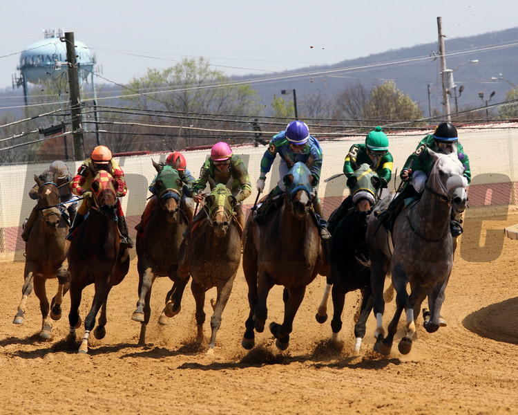 Final Turn of Lucy's Bob Boy Overnight Stakes