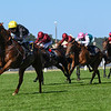Agrotera, Jamie Spencer win the Sandringham  Stakes, Royal Ascot; Ascot Race Course; Ascot; UK; 6-22-18; Photo by Mathea Kelley