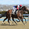 Split Time wins the 2018 Maddie May Stakes<br /> Coglianese Photos/Chelsea Durand