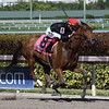 Fly So High wins the 2018 Davona Dale Stakes<br /> Coglianese Photos