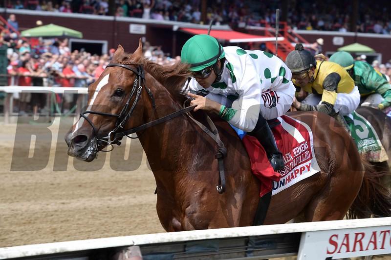 Promises Fulfilled wins the 2018 H. Allen Jerkens Stakes<br /> Coglianese Photos/Joe Labozzetta