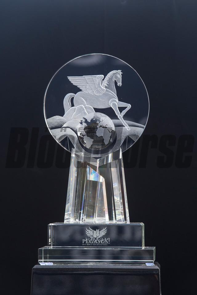 Gun Runner Florent Geroux Up wins The Pegasus Cup   @ Gulfstream Park   Jan 26 2018; Joe DiOrio/Winningimages.biz