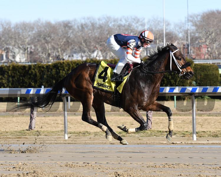 My Boy Tate wins the 2018 Say Florida Sandy Stakes<br /> Coglianese Photos/Annette Jasko