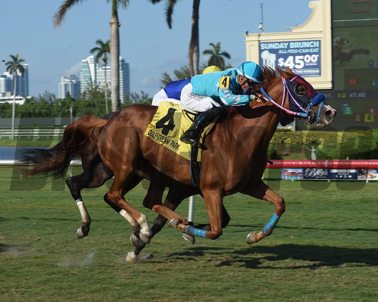 Unbridled Courage, Nik Juarez, Treasure Coast Stakes, $75,000, Gulfstream Park, July 14, 2018