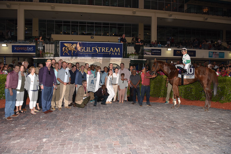Promises Fulfilled wins the 2018 Fountain of Youth Stakes<br /> Coglianese Photos