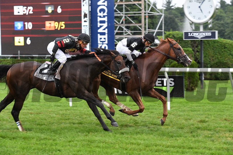 Voodoo Song; Jose Lezcano; Fourstardave Handicap; G1T; Saratoga Race Course; August 11; 2018<br /> Coglianese Photos