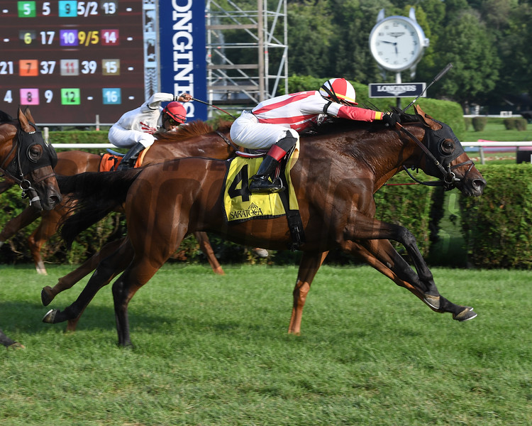 Focus Group wins the 2018 John's Call Stakes<br /> Coglianese Photos